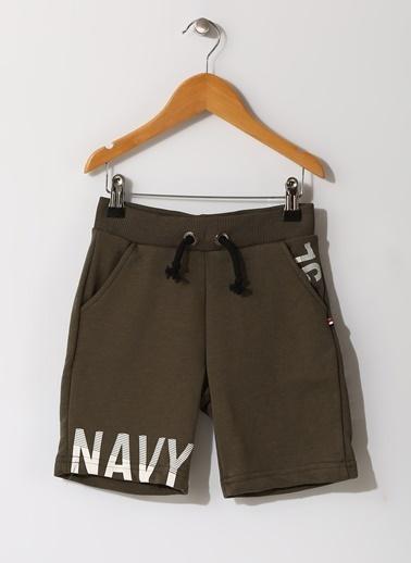 North Of Navy Şort Haki